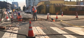 Bike Lanes Are Coming to Hillcrest: Construction Begins on 5th & Spruce Street